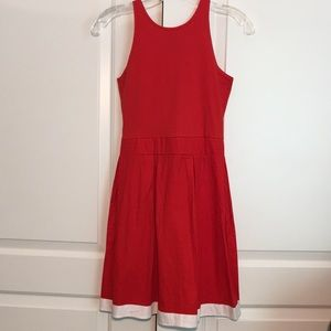 NWT Motel Rocks Red Pleated Francesca Dress
